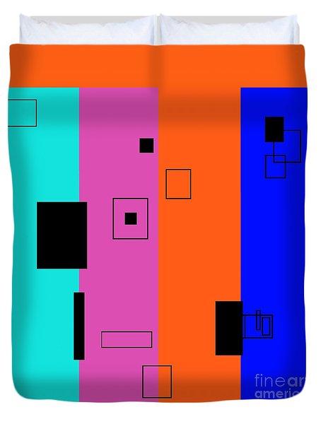 Simple Color 2 Duvet Cover by Eloise Schneider