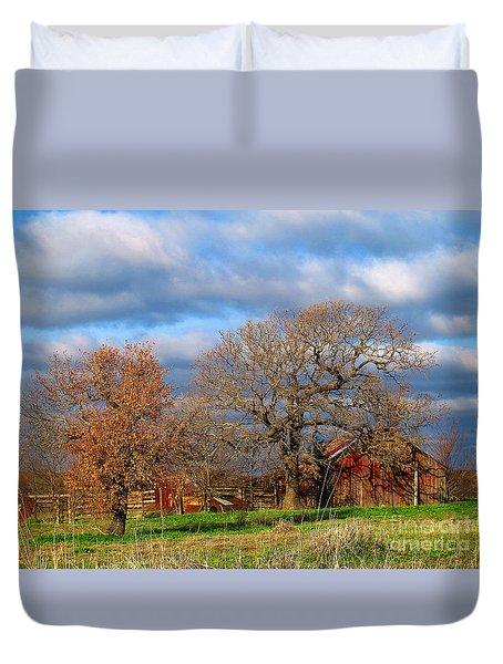 Simple Hideaway  Duvet Cover