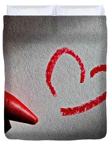 Simple Love Duvet Cover by Bill Owen