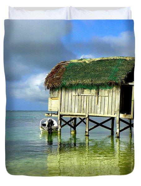 Simple Solitude Duvet Cover