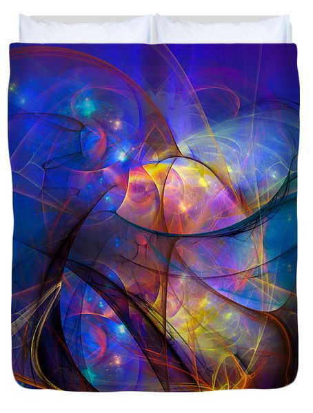 Simple Twist Of Fate Duvet Cover