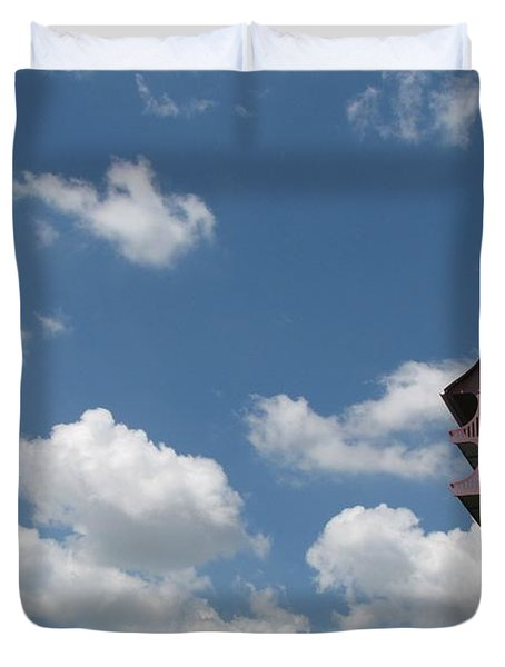 Duvet Cover featuring the photograph Simplicity by Beth Vincent