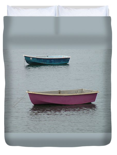 Simplicity Harbor Duvet Cover