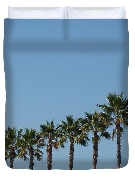 Simply Palms Duvet Cover