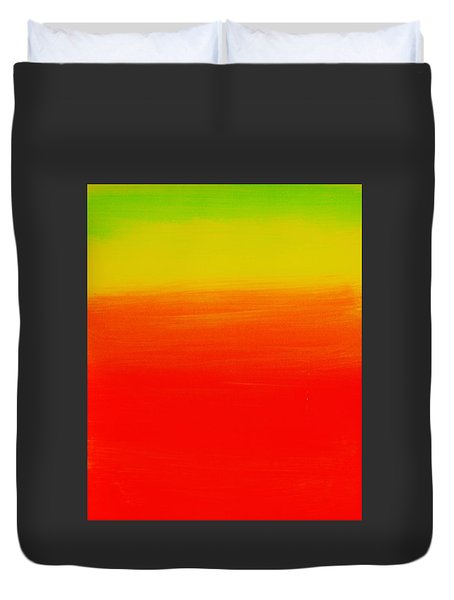 Simply Rasta Duvet Cover by Jean Cormier