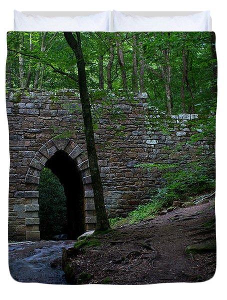 Since 1802 Poinsett Bridge Duvet Cover