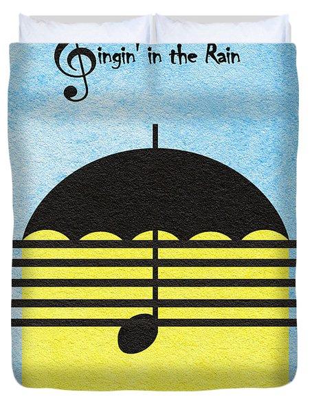 Singin' In The Rain Duvet Cover