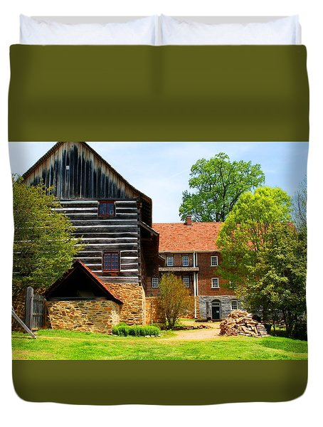 Single Brothers House Duvet Cover