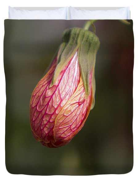 Single Bud Duvet Cover