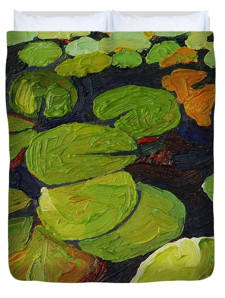 Singleton Lily Pads Duvet Cover