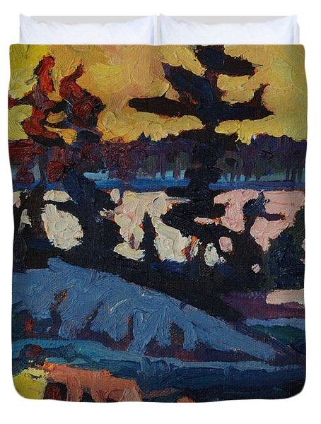 Singleton Sunset Duvet Cover