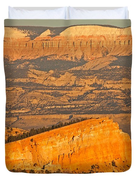 Sinking Ship Sunset Point Bryce Canyon National Park Duvet Cover