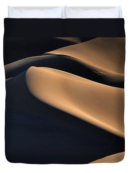 Sinuous Dunes  Duvet Cover