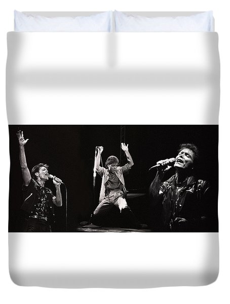 Sir. Cliff Richard Duvet Cover