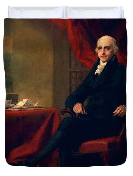 Sir William Miller, Lord Glenlee Duvet Cover by Sir Henry Raeburn