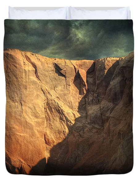 Siren Rocks Duvet Cover by Taylan Apukovska