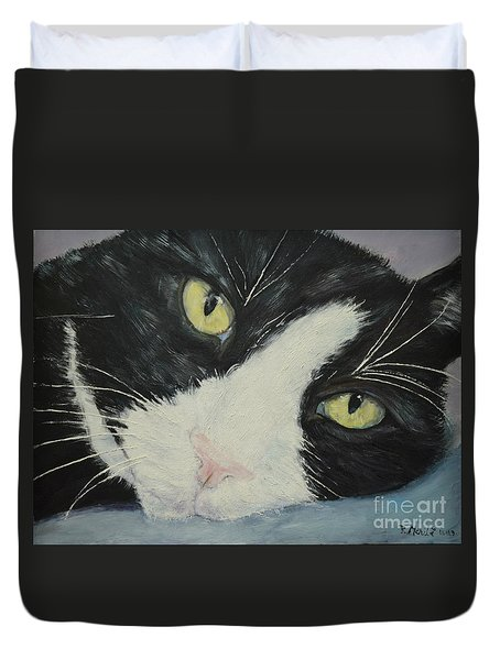Sissi The Cat 1 Duvet Cover