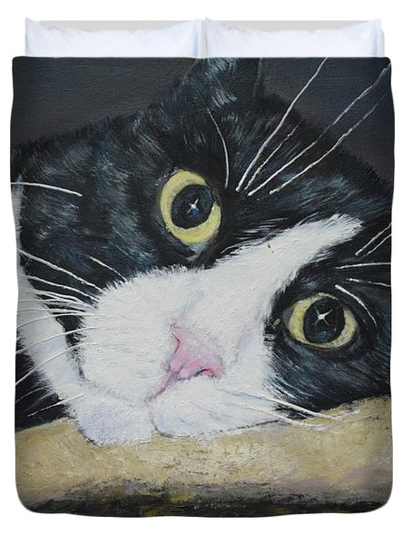 Sissi The Cat 3 Duvet Cover
