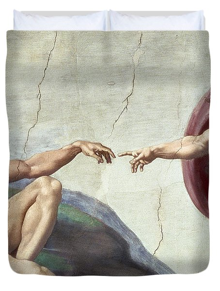 Sistine Chapel Ceiling Duvet Cover