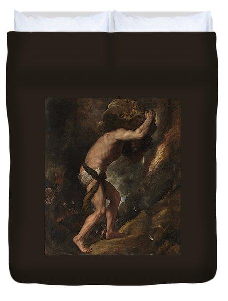 Sisyphus Duvet Cover