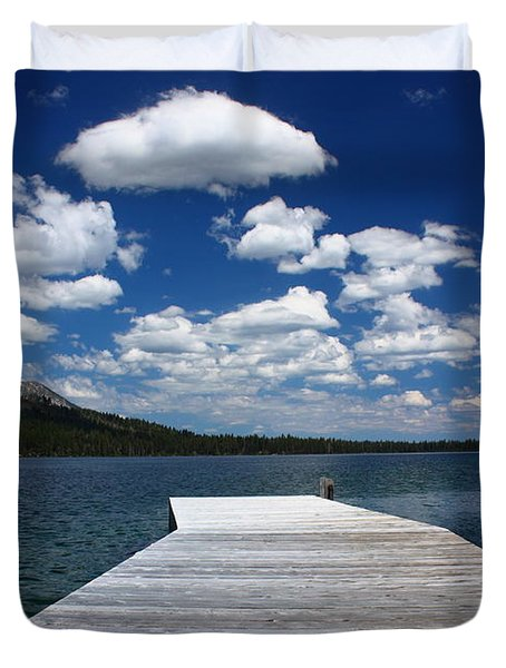 Sit'n Wasting Time Away Duvet Cover by Patrick Witz