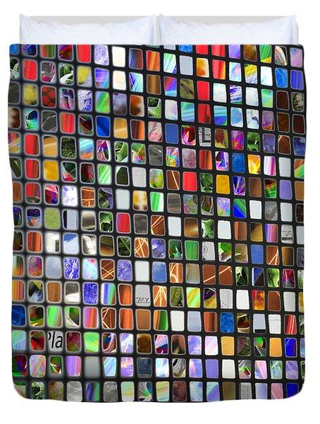 Six Hundred Rectangles Duvet Cover