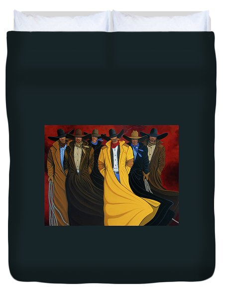 Six Pac Duvet Cover by Lance Headlee
