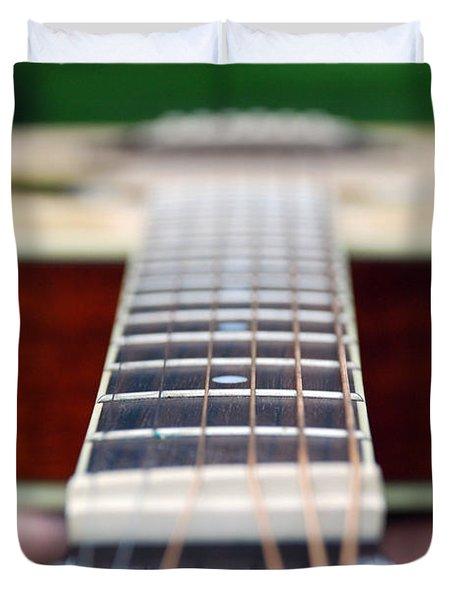 Six String Music Duvet Cover