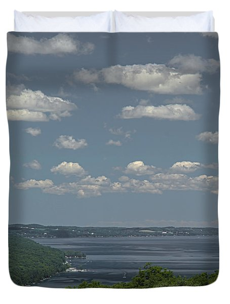 Skaneateles Lake Duvet Cover