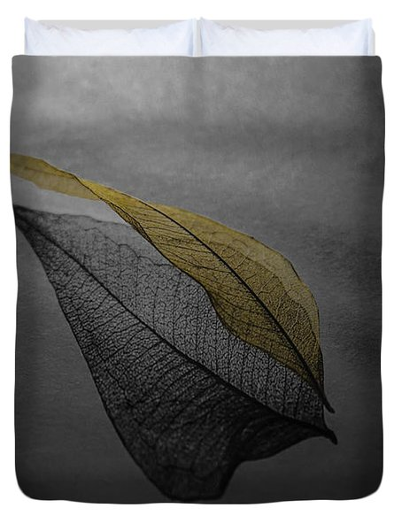 Skeleton Leaf 4716 Duvet Cover