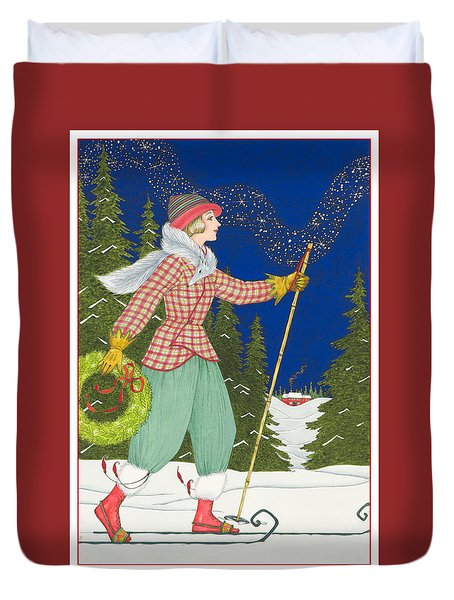 Ski Vogue Duvet Cover
