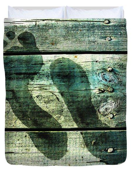 Skinny Dipp'n Duvet Cover