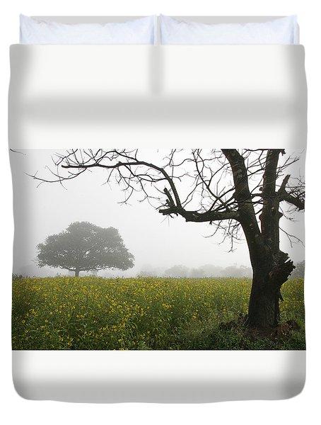 Skc 0060 Framed Tree Duvet Cover by Sunil Kapadia