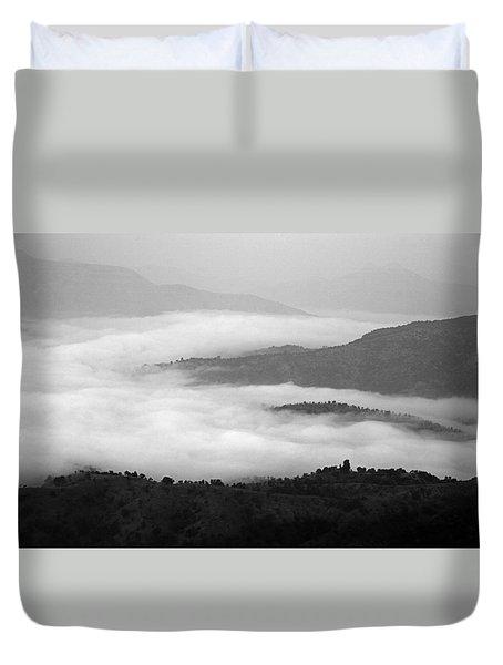 Skc 0064 Heaven On Earth Duvet Cover by Sunil Kapadia