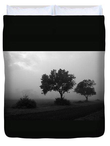 Skc 0074 A Family Of Trees Duvet Cover by Sunil Kapadia