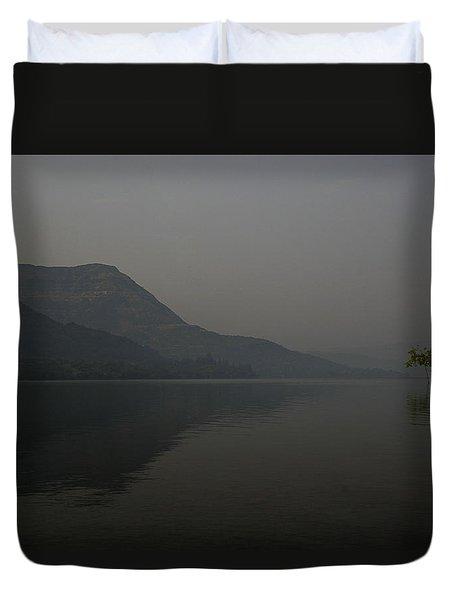 Skc 0086 Solitary Isolation Duvet Cover by Sunil Kapadia