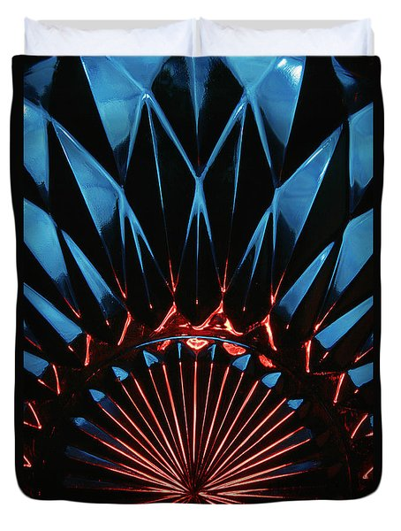 Skc 0269 Cut Glass Duvet Cover by Sunil Kapadia