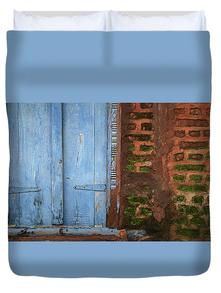 Skc 0302 A Village House Duvet Cover