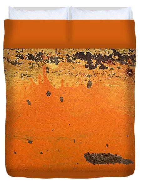 Skc 1505 Peeled Paint Duvet Cover by Sunil Kapadia