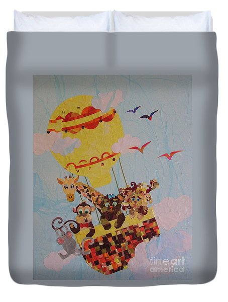 Sky Adventurers Duvet Cover