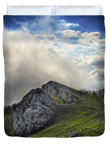 Sky Boundary Duvet Cover