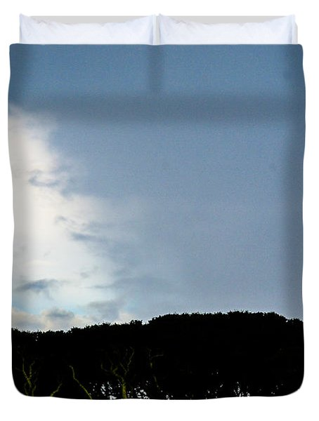 Sky Half Full Duvet Cover