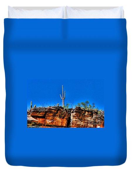 Sky Island Duvet Cover