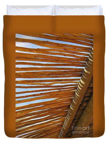 Sky-lined  Duvet Cover by Joy Hardee