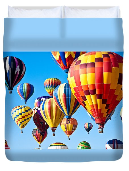 Sky Of Color Duvet Cover