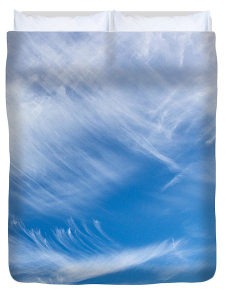 Sky Painting II Duvet Cover