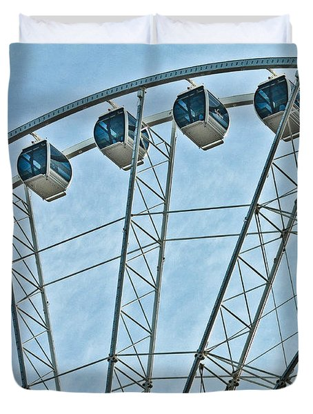 Sky Wheel  Duvet Cover