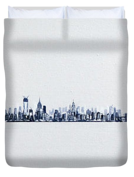 Skyline 10x30-2 Duvet Cover