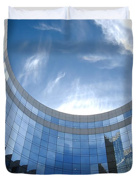 Skyscraper Duvet Cover by Michal Bednarek