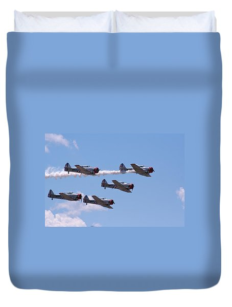 Skytypers Duvet Cover